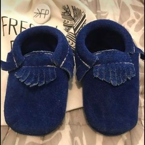 Freshly Picked Other - 🎉price drop🎉Freshly Picked Moccasins Blue Suede