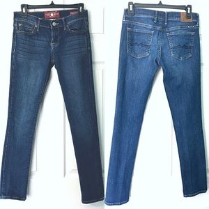 Lucky Brand Sweet 'N Straight Jeans 0/25 25 0
