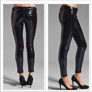 Blank NYC Pants - Blank NYC sequin spray on skinny pants. NWT