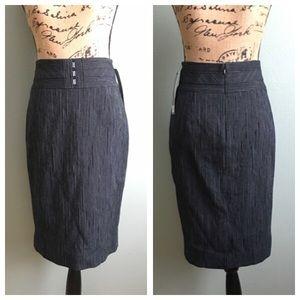 Classiques Entier Dresses & Skirts - NWT Classiques Entier size 0 pinstripe skirt!