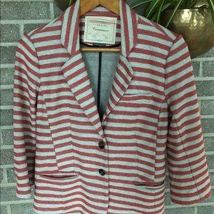 Cartonnier for Anthropologie striped comfy blazer