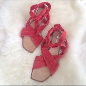 Kenneth Cole New York ankle wrap sandal