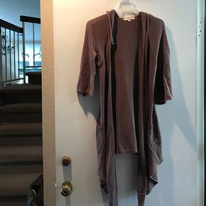 Draped Half Sleeve Sweater