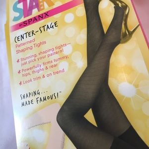 SPANX Intimates & Sleepwear - NWT Star Power by Spanx shaping black tights