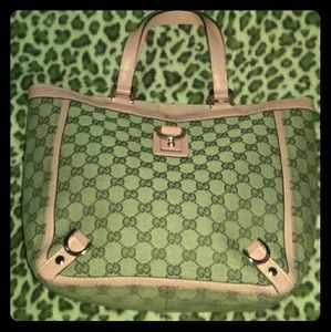 Gucci Handbags - Today$Only Auth Gucci Monogram Bag Pink  !!
