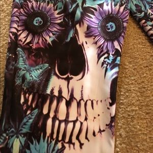 Westkun Other - 💀🆕Blue/Purple Skull Sweatpants, 1 of a Kind!💯🆕