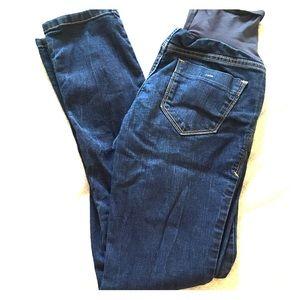 Skinny maternity jeans size 4 full panel!