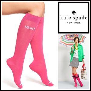 kate spade Accessories - KATE SPADE Tall Knee High Boot Socks