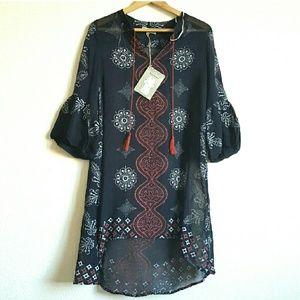 Dresses & Skirts - BOHEME TASSEL TUNIC DRESS