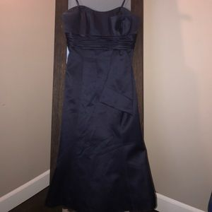JS Boutique Dresses & Skirts - Strapless navy dress