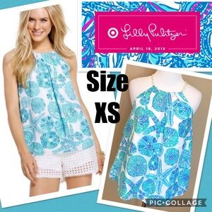 Lilly Pulitzer for Target Tops - NWT Lilly for Target Sea Urchin Top Size XS