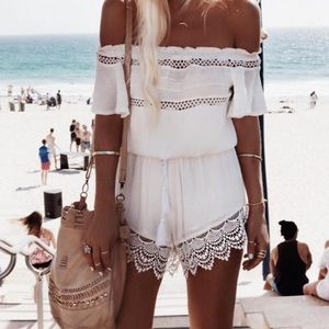 Other - Brand New Off the Shoulder Romper/ Playsuit