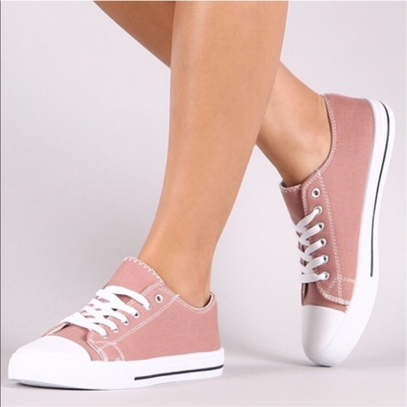 Shoes - 🆕SERA lace up sneakers - MAUVE
