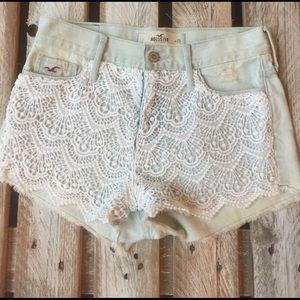 Hollister high waist shorts!! SZ/1 or 25
