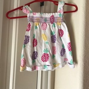 Other - Pineapple dress with purple bloomers