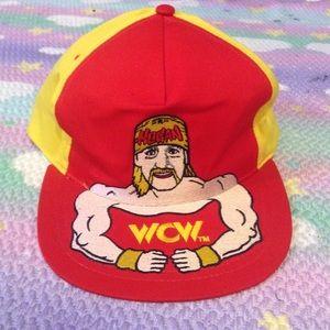 HULK HOGAN WCW SNAPBACK VINTAGE WWE WF