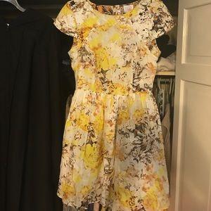 Spring Parker dress w/ open back