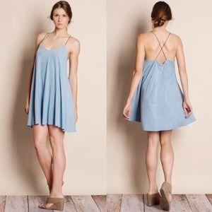 Super Soft Faux Suede Mini Dress