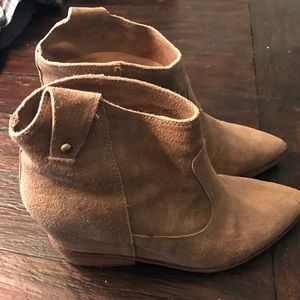 Belle by Sigerson Morrison Shoes - Belle Sigerson Morrison Tan Bootie, 9 worn
