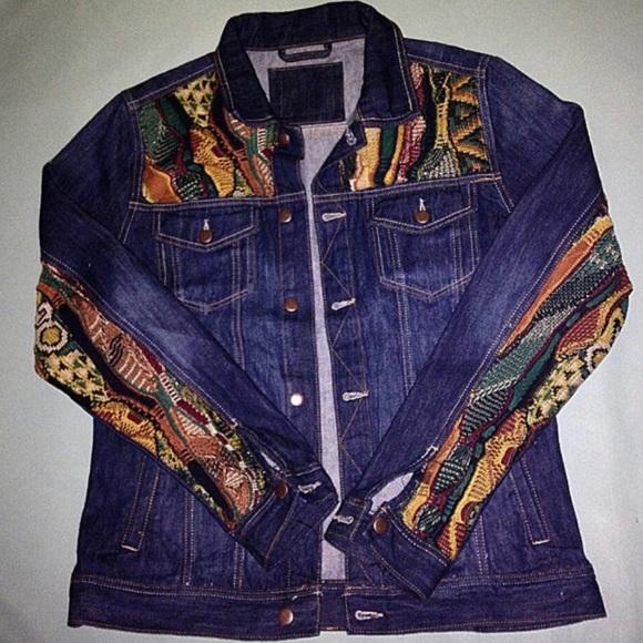 180ba44a70ff64 COOGI Jackets & Coats | Custom Jean Jacket | Poshmark
