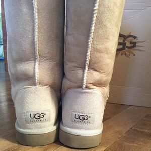 UGG Shoes - Pristine Condition, Tall Sand Color UGGs