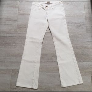 Goldsign Denim - GOLDSIGN Boot Cut Jean in White