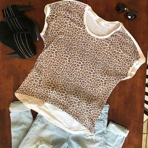 Cj Banks Tops - Fun & Flirty Sheer Flowy Leopard Print Top! ❤