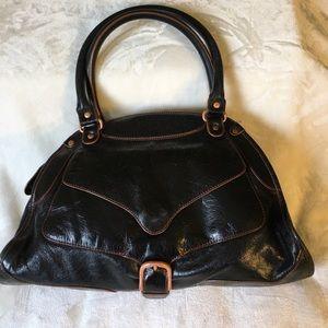 Sigerson Morrison Handbags - Sigerson Morrison leather satchel handbag