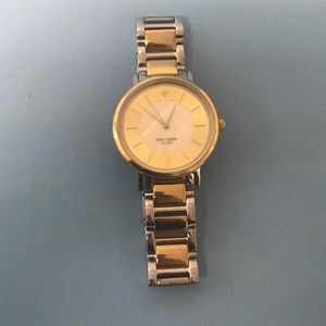 kate spade Accessories - NWOT Flawless two tone Kate Spade watch. A stunner