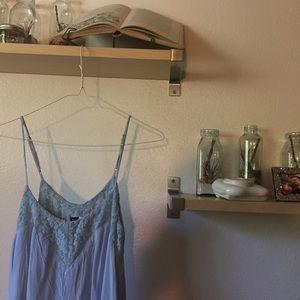 Baby Blue Swing Dress