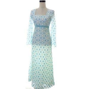 Vintage Handmade Fsetival Wedding Dress Small