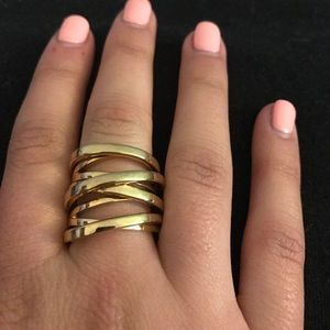 Gold Michael Kors ring