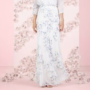 LC Lauren Conrad Dresses & Skirts - LAUREN CONRAD RUNWAY COLLECTION FLORAL MAXI SKIRT
