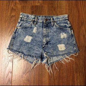 Wrangler Pants - Vintage Wrangler Cut-off Shorts