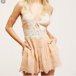 Free People Other - Free People Sun Kisses Romper