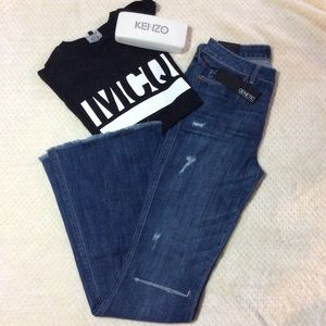 Genetic Denim Denim - NWT Genetic Denim Leaf Fit and Flare denim jeans.