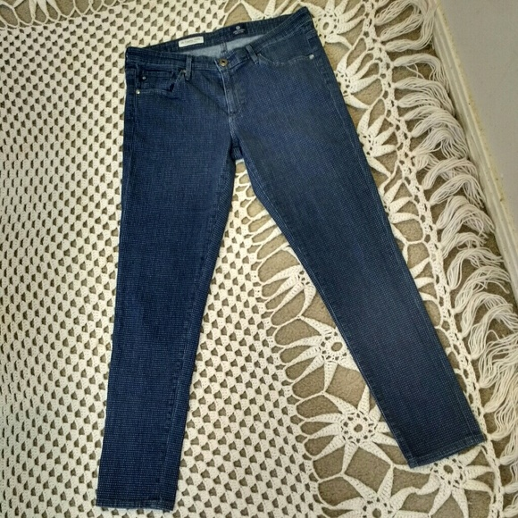 AG Adriano Goldschmied Denim - AG Adriano Goldschmied Jeans Polka Dot The Legging