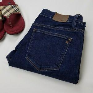 Madewell Denim - MADEWELL Skinny Skinny Dark Blue Denim Jeans