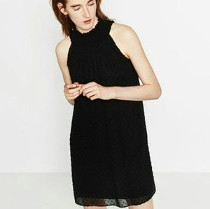 Zara plumetis dress
