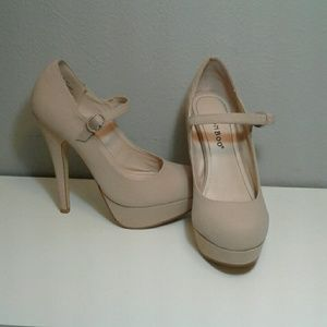 Bamboo Shoes - Nude Pumps