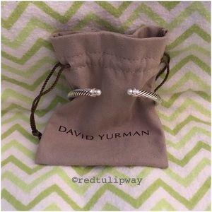 🌹SOLD🌹 David Yurman Bracelet Pearls & Diamonds