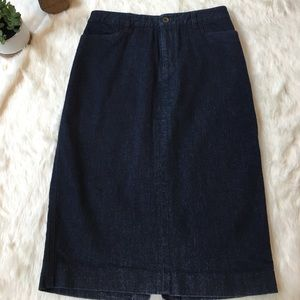 Ralph Lauren Dresses & Skirts - Ralph Lauren dark wash denim pencil skirt