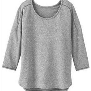 NWT Athleta Half Moon Sweatshirt Top Sz S