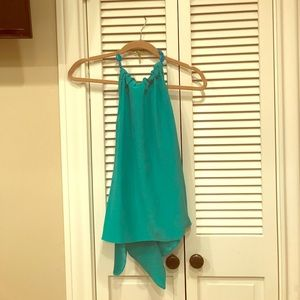 Annie Griffin  Tops - Amazing Annie Griffin turquoise top.