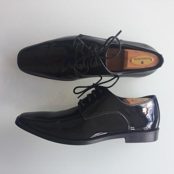 2dd72c98c4 Joseph Abboud Shoes | Mens Patent Leather Tuxedo Glossy 11w | Poshmark