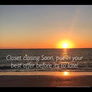 Accessories - Closet closing soon