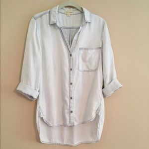 Cloth & Stone chambray button down