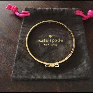 kate spade Jewelry - KATE SPADE  BOW BANGLE🌷