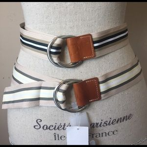 Set of 2 GAP Ribbon Belts