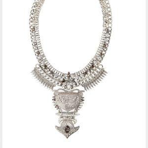 Baublebar Amazon Silver Bib Necklace